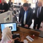Erzurum'da yeni kimlik kartlarının dağıtımı başladı