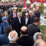 Erdoğan Şehit Kaymakam'ın mezarında Kur'an okudu