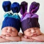 Dünyanın en sevimli ikiz bebekleri