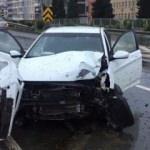Süper Lig'in yıldızı trafik kazası geçirdi!