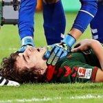 Milli futbolcu ölümden döndü!