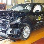 Audi Q2 çarpışma testinde! İşte sonuç...