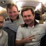 Messi'de düşen uçak ile yolculuk yapmış!