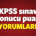 KPSS Puan yorumları! 2016 Ortaöğretim KPSS tercih yorumları