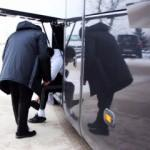 Beşiktaşlı yıldız Bolu'ya otobüsün bagajında gitti