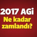 AGİ ne kadar zamlandı? 2017 Asgari geçim indirimi kaç TL oldu