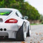 Porsche Cayman tornadan geçti! İşte son hali