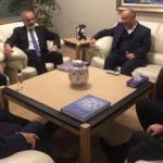 Yalçın Topçu ve vekillerden Kanal 7'ye ziyaret