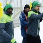 Konyaspor'un yeni transferi antrenmanda!