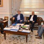 Yalçın'dan İçişleri Bakanı Soylu'ya ziyaret
