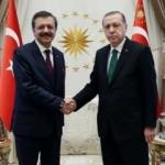 Cumhurbaşkanı Erdoğan Hisarcıklıoğlu'nu kabul etti