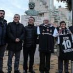 Beşiktaş'tan İsrail'deki Türk şehitliğine ziyaret