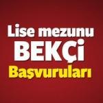 Lise mezunu İstanbul bekçi alımı başvuruları başladı!