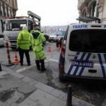 Taksim'de alarm! Polis bütün yolları kapattı
