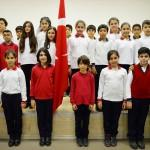 İşaret dili ile İstiklal Marşı okudular
