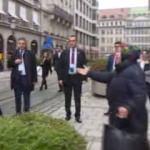 Başbakan Yıldırım Almanya sokaklarında