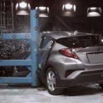 Toyota C-HR çarpışma testinde! İşte başarı oranı
