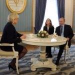 Rusya'da Putin-Le Pen buluşması