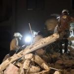 Suriye'de savaş uçakları hastaneyi vurdu
