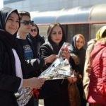 Van'da İranlı turist sevinci!