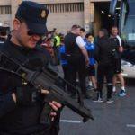 İngiliz taraftarlar Madrid'i karıştırdı...