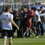Lyon maçında olay çıktı! Maç tatil edildi!