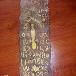 Adana'da altın yazmalı Tevrat ve el yazması ferman ele geçirilmesi