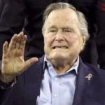 Baba Bush hastaneye kaldırıldı