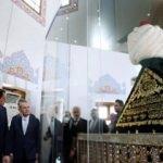 Erdoğan Yavuz'un kaftanının açılışını yaptı