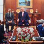 İsmail Kahraman Büyükelçi Hireyci'yi ağırladı