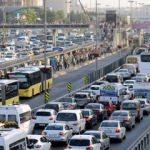 Trafikte 7 bin 300 kişi hayatını kaybetti