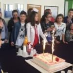 Bosnalı çocuk hayranlar Elif ile buluştu