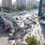İstanbul'da Şirinevler Meydanı'nı arılar bastı
