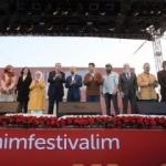 Üç dizinin oyuncuları Erdoğan'la buluştu
