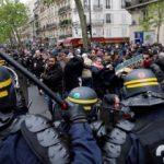 Fransa'da seçim bitti, öfke dinmedi! Cop çektiler