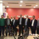 AYD'den Kanal 7 Medya Grubu'na ziyaret