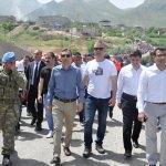 """Eruh'ta Türk bayrakları ile """"gençlik yürüyüşü"""""""