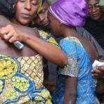 Esaretten kurtulan 82 kız ailelerine kavuştu