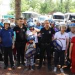 Zihinsel engeli çocuklar polis telsizinden anons yaptı