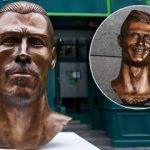 Ronaldo'nun büstünden sonra şimdi de Bale!