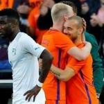 Wesley Sneijder tarihi değiştirdi!