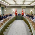 Erdoğan başkanlığında toplandılar!