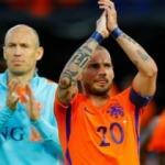 Hollanda'nın kralı Wesley Sneijder