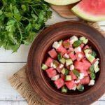 Ramazan'da susuzluğa Karpuz ve salatalık
