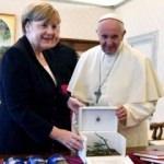Görüşme sonrası Merkel'den flaş Papa açıklaması!