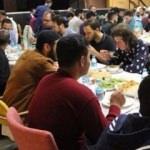 Mülteciler ile gençler aynı sofrayı paylaştı
