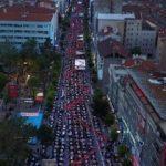 En büyük iftar sofrası Uşak'ta