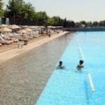 Eskişehir'deki yapay plaj sezonu açıldı