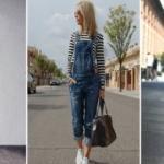 Dört mevsimin modası: Jean salopetler
