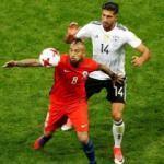 Almanya-Şili maçında gülen yok!